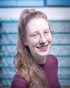 Team Auszubildende Kristen Robbers - Optiker Mersmann Oswaldstraße 26